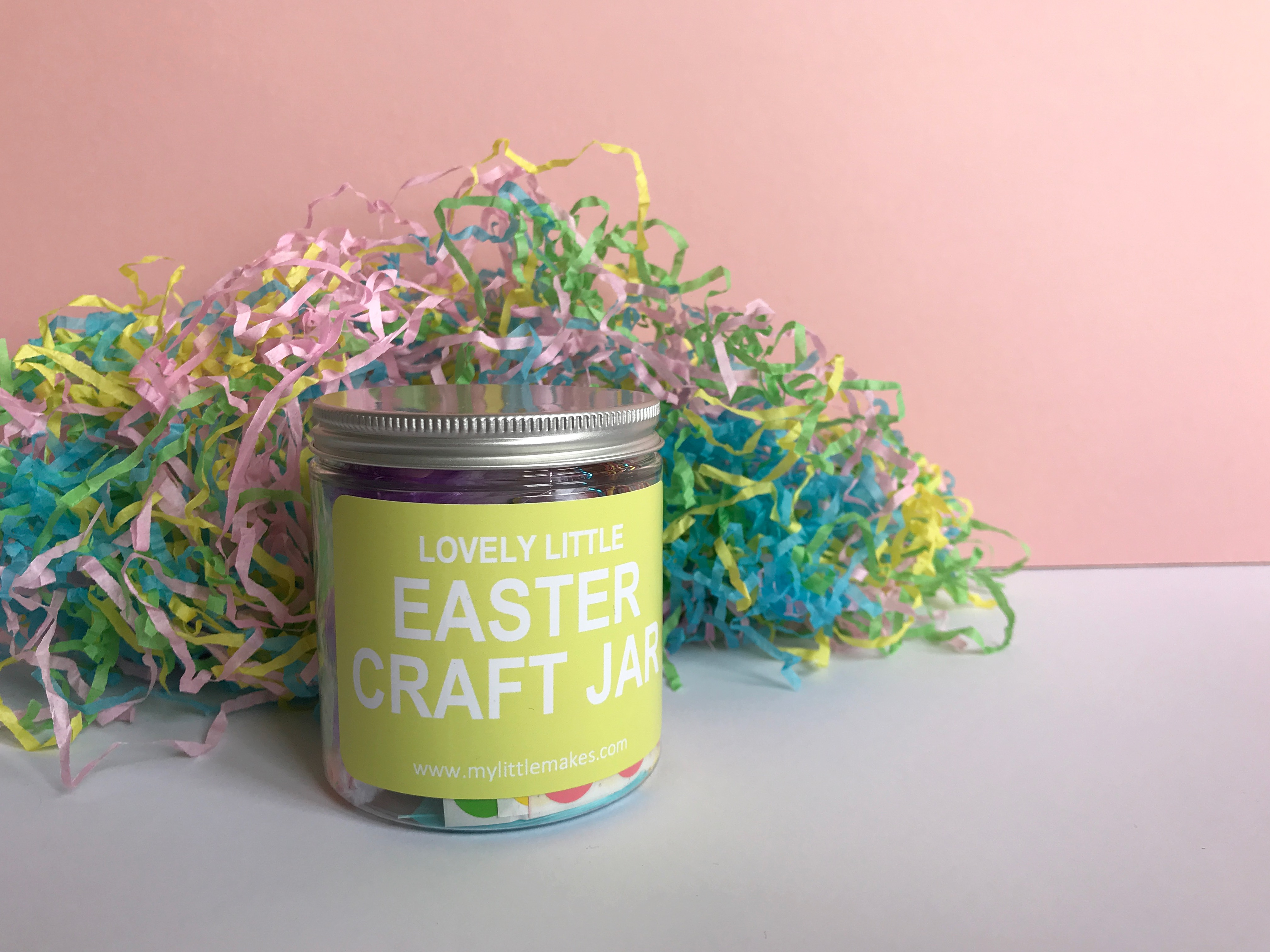 Review My Little Makes Easter Craft Jar The Bear The Fox