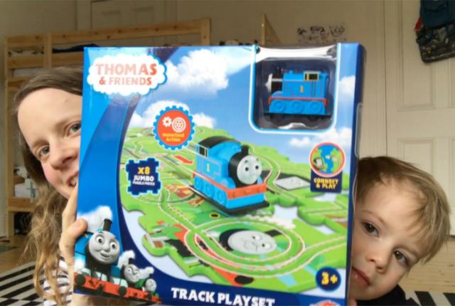 Thomas the Train Playset preview