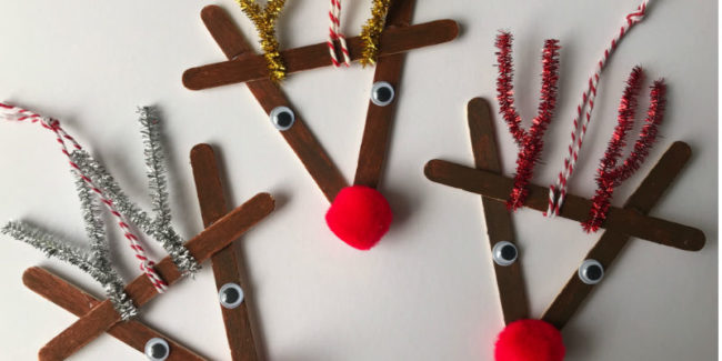 Lolly Stick Reindeer