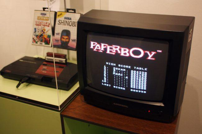 Computer Games Museum Berlin - Paper Boy Game