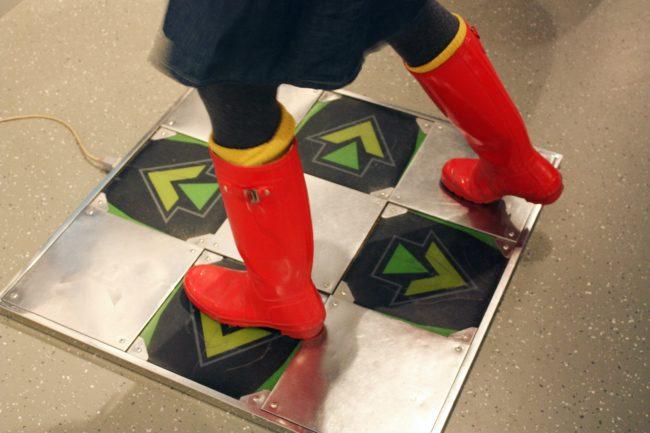 Computer Games Museum Berlin - Dance Mat