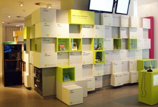 Computer Games Museum Berlin - Milestones Display