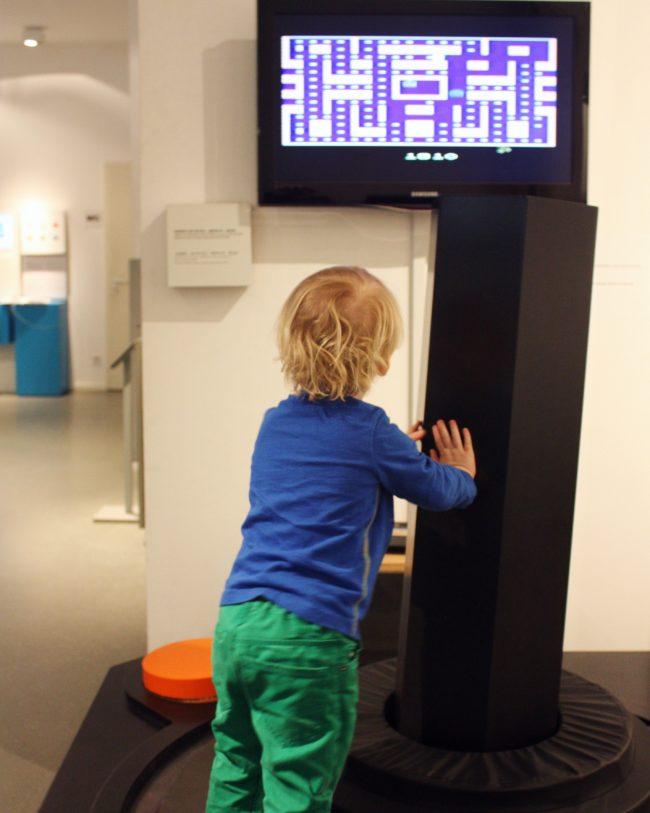 Computer Games Museum Berlin - Giant Joystick