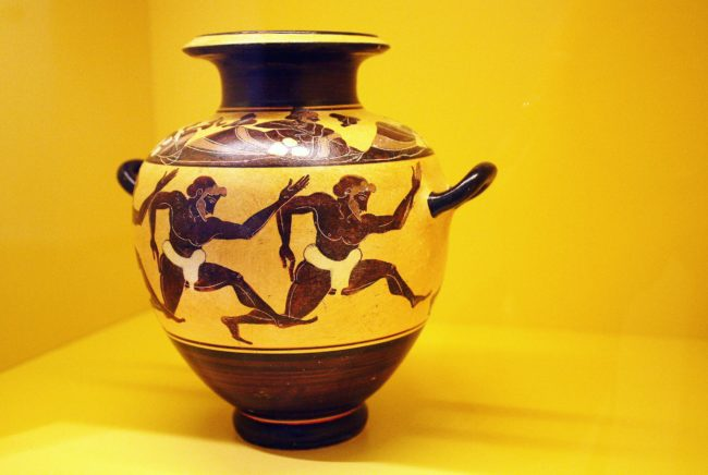 Computer Games Museum Berlin - Greek Vase