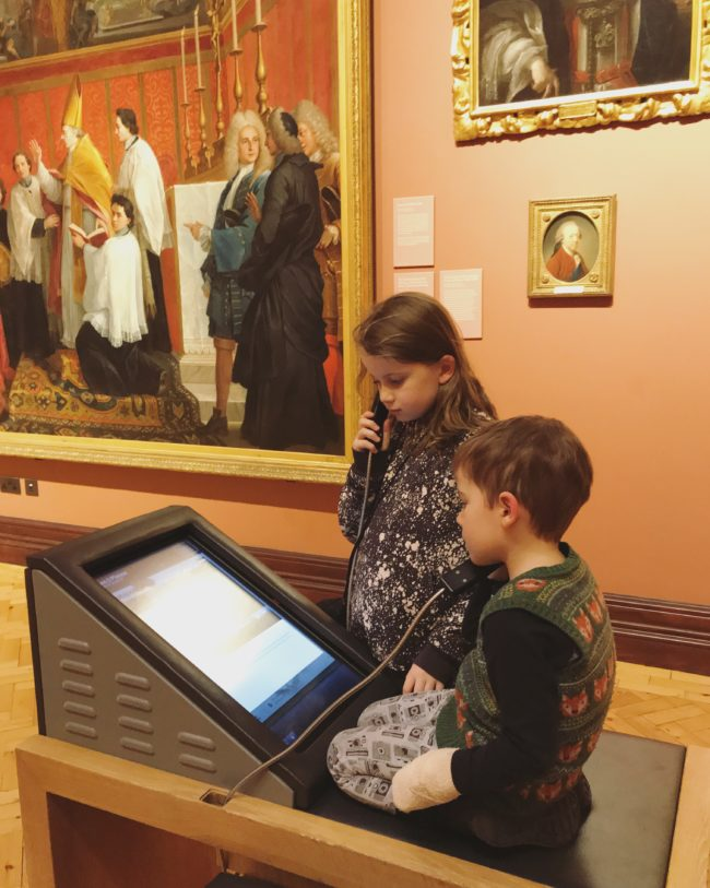 Scottish National Portrait Gallery with Kids
