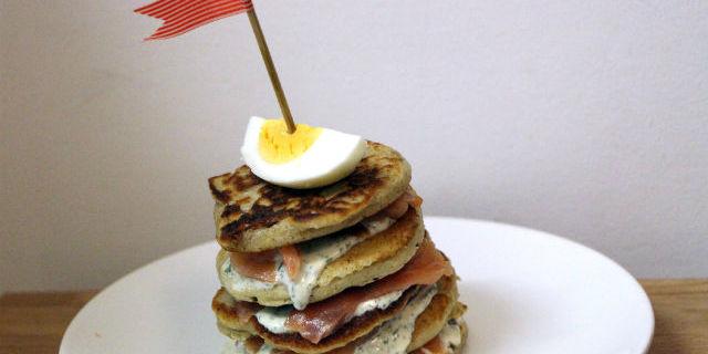 Mini Buckwheat Pancakes
