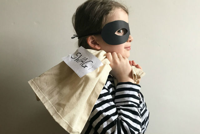 World Book Day Costume - Burglar Bill
