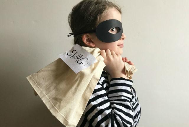 World Book Day Costume - Burglar Bill