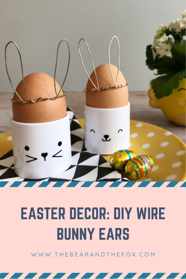 Pinterest Easter Decor Wire Bunny Ears