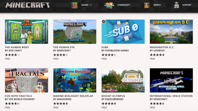Minecraft Education Collection