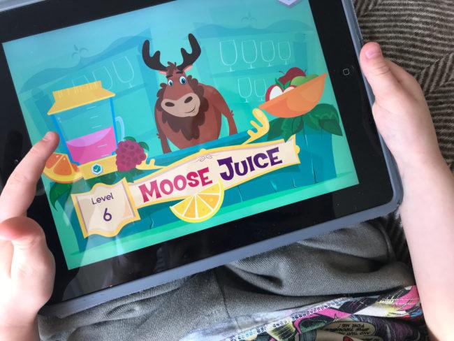 Moose Maths game