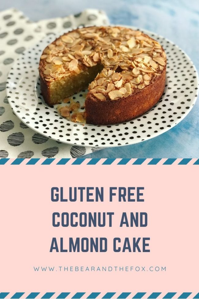 Pin Gluten Free Coconut and Almond Cake