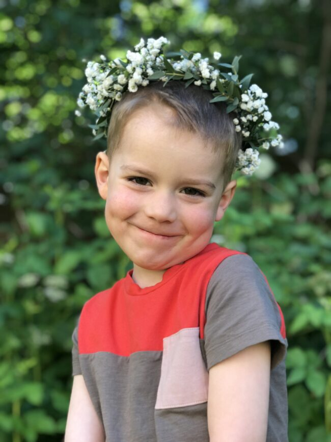 DIY Floral Midsummer Crown