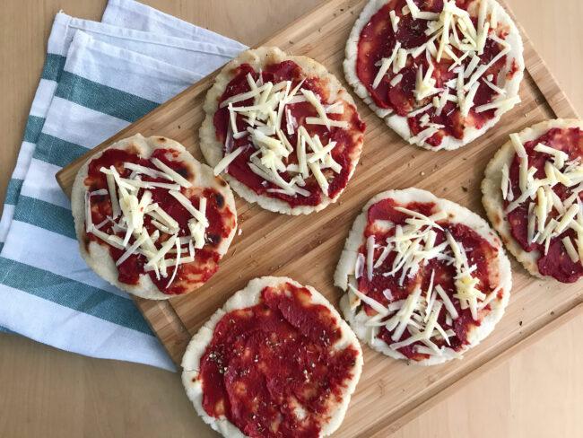 Mini Flatbread Pizzas