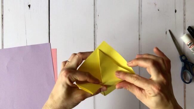Origami Monster Bookmark