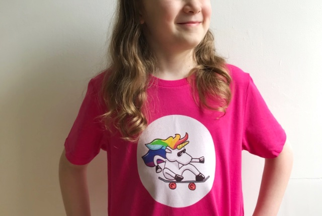 Awsm Street Unicorn T-shirt Preview
