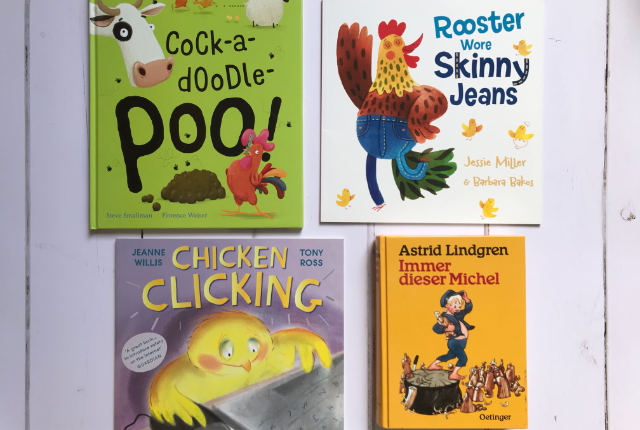Kids Books Bingo - Books Set on a Farm