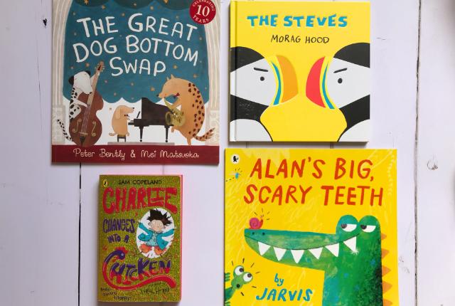 Kids Books Bingo - a book that makes you laugh