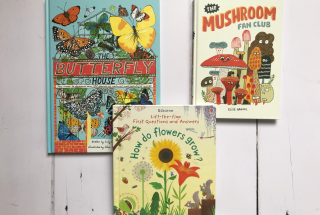 Kid Books Bingo - books about nature