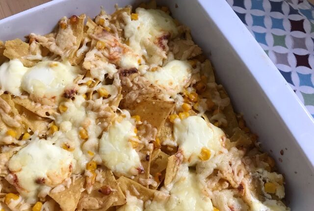 Easy Sweetcorn Nachos