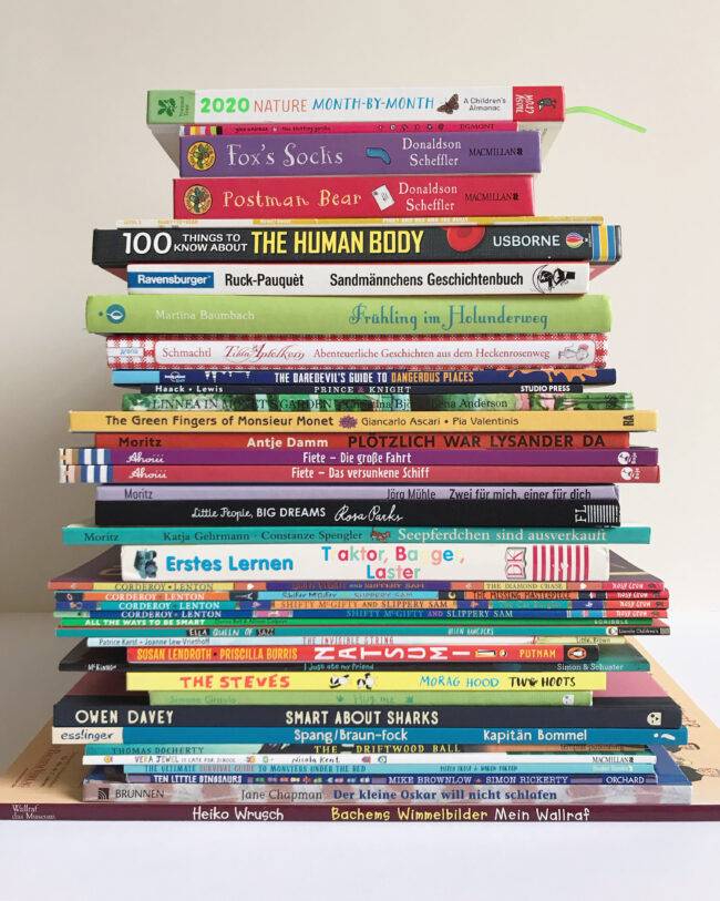 all the books we read in June 2020