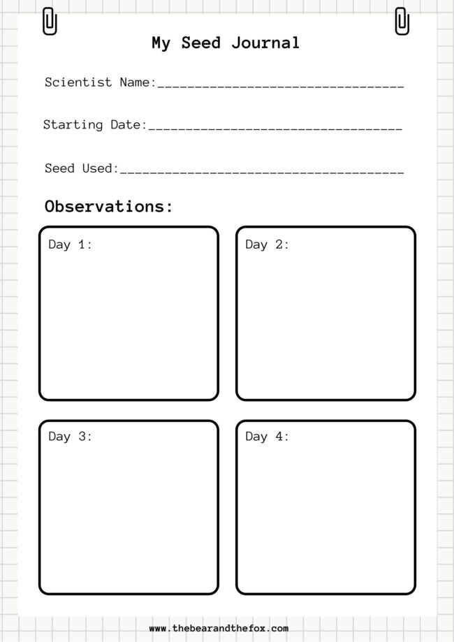 Seed Journal Free Download
