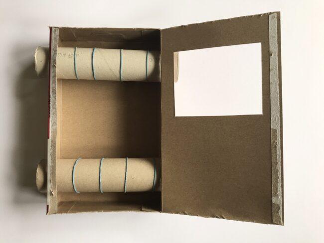 DIY Cardboard Box TV