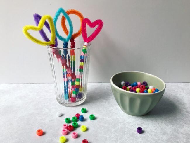 DIY Pipe Cleaner Bubble Wands
