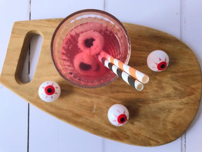 Halloween Eyeball Mocktail