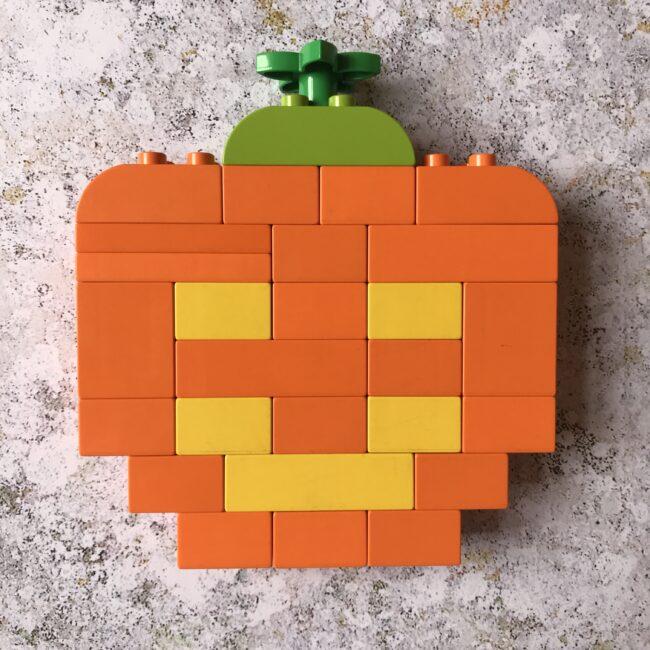 Lego Duplo Halloween Pumpkin