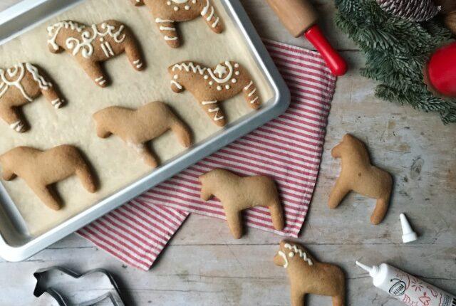 Lebkuchen Pferde Gingerbread Horses
