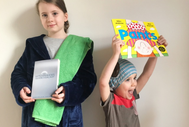 how to celebrate world book day at home