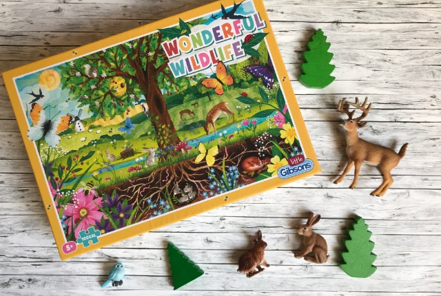 Little Gibsons Wonderful Wildlife Jigsaw Puzzle