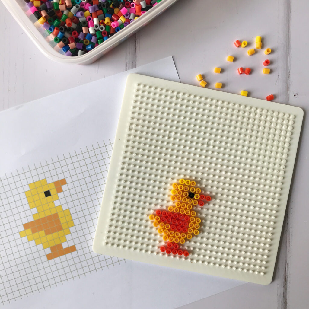 Easter Hama Bead Designs