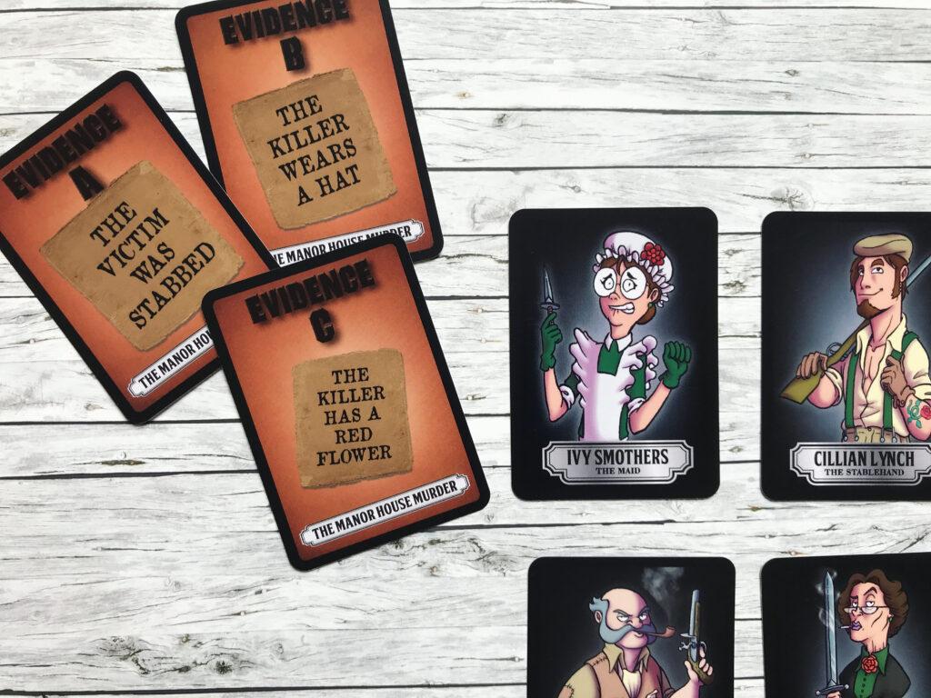 Foul Play Murder Mystery Card Game