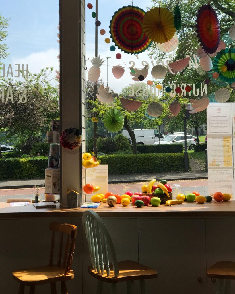 Maggie's Nutrio House juice bar Edinburgh