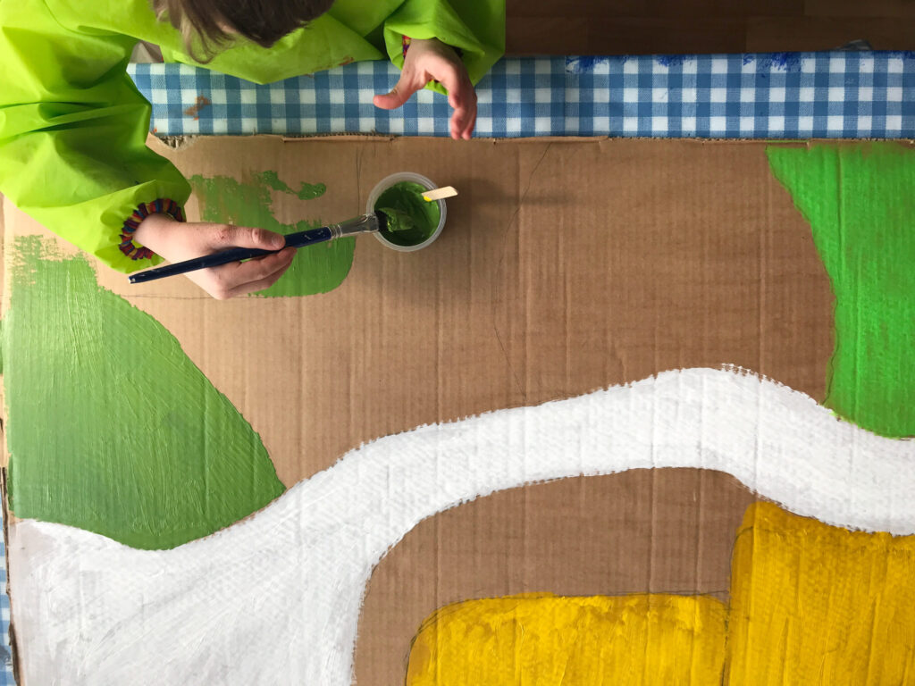 DIY Playmobil Zoo Play Landscape