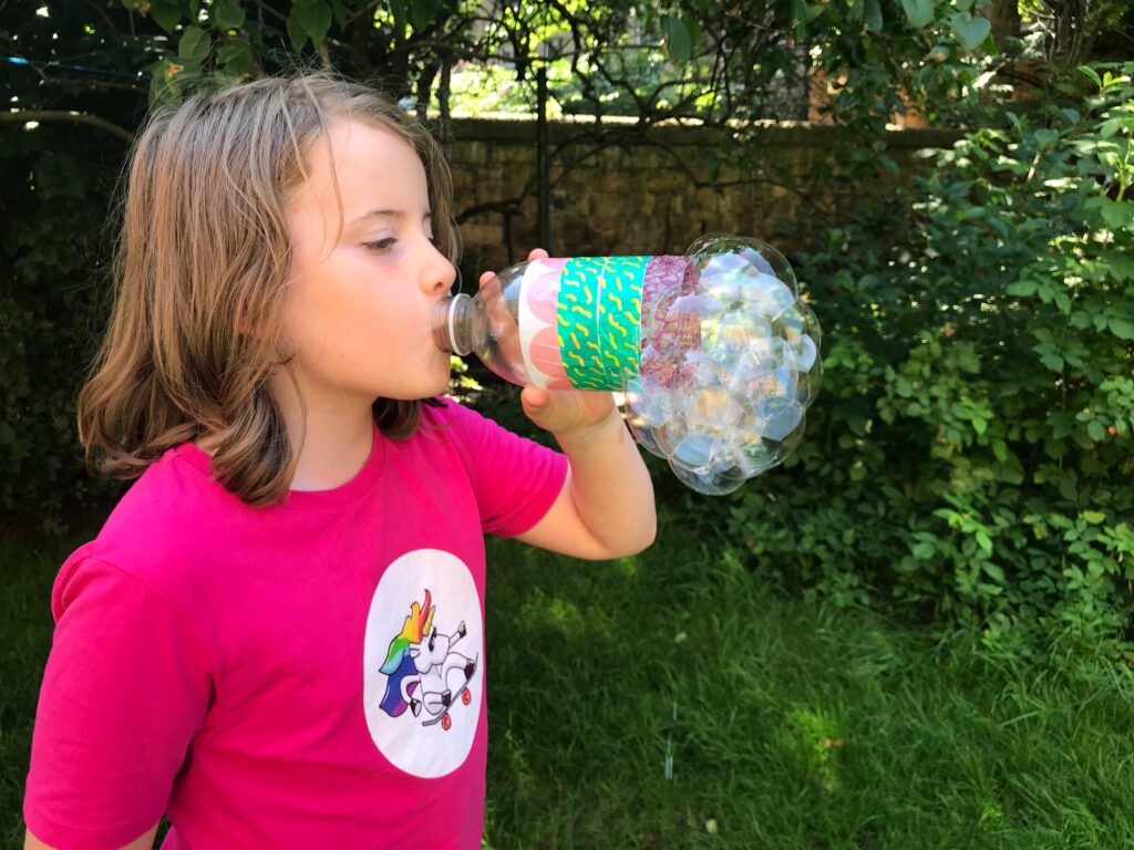 Recycled Bottle Bubble Blower