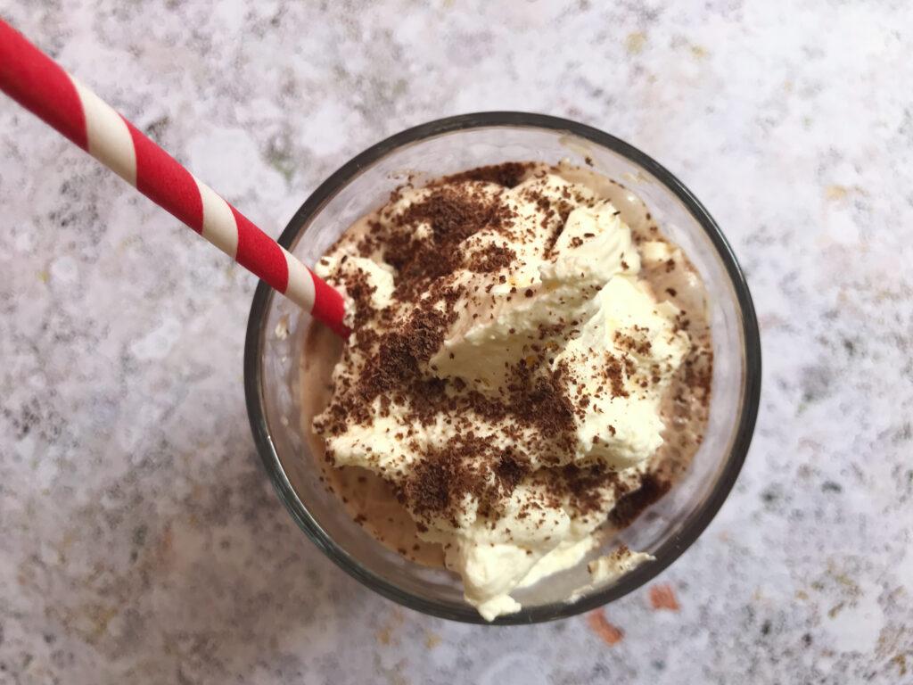 Eis Schokolade Kaffee German Ice Cream Drinks