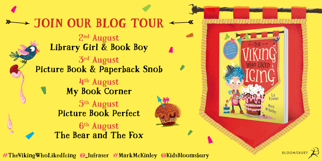 The Viking Who Liked Icing Book Tour Review