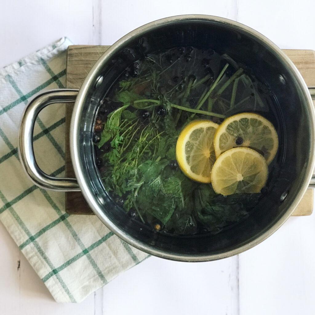 Kräuterlimonade German Herbal Lemonade