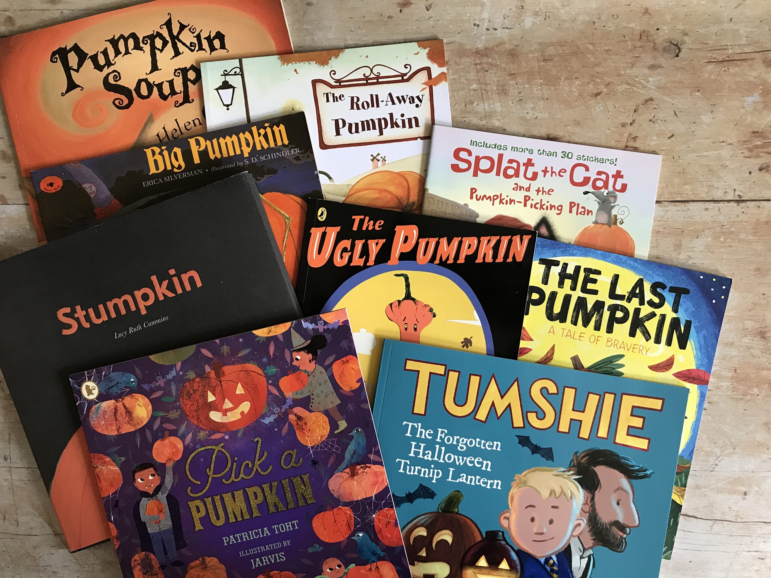 Favourite Halloween Picture Books About Pumpkins